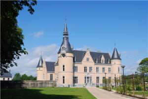 Château du Faing, siège de l' Administration Communale de Chiny
