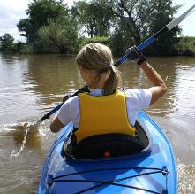 en kayak sur la Semois