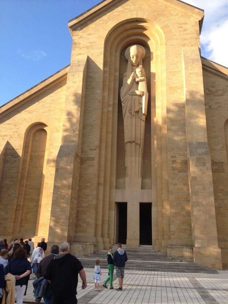 L'entrée de l'Abbaye d'Orval