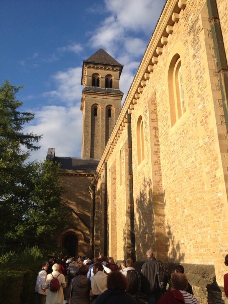 la majesté de l'abbaye d'Orval