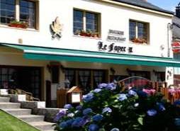 le restaurant au Foyer IX entrée fleurie