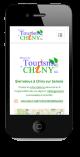 Chiny-Tourisme site mobile responsive sur smartphone-ipnone