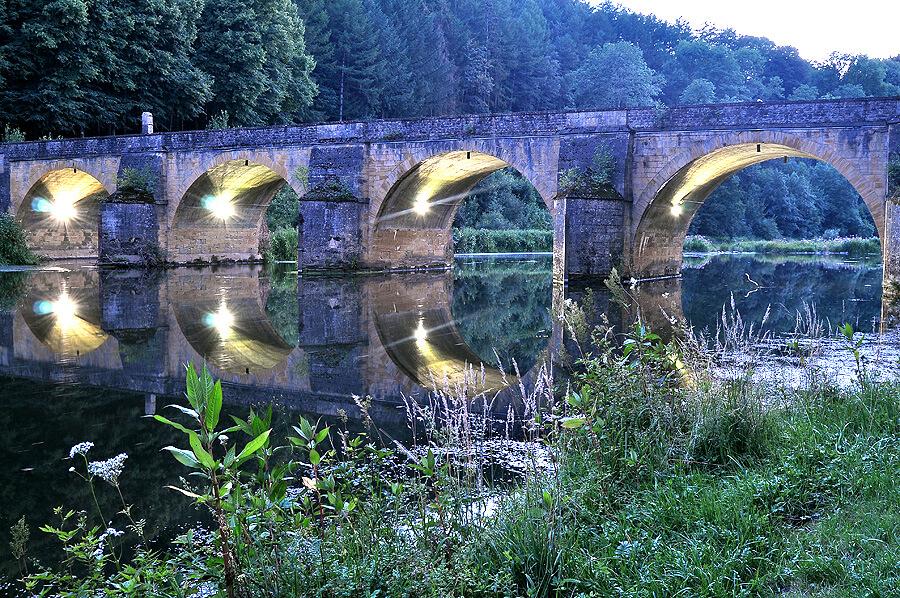Le Pont Saint-Nicolas à Chiny - Photo de Florence Dumont