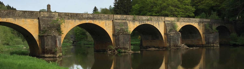 Chiny au Pont Saint-Nicolas