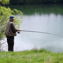 la pêche à Chiny sur le parcours des 3 Truites ou de la Vierre