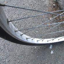 roue de vélo VTT