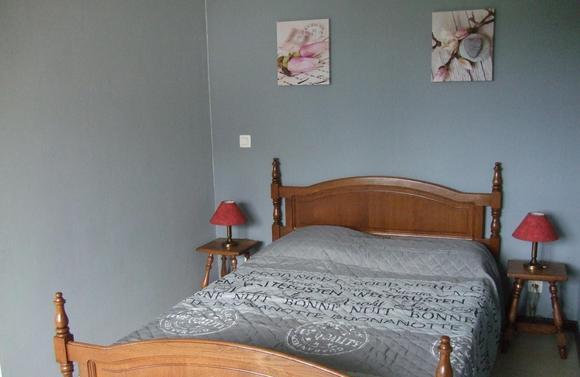 Gîte l'Envolée 2ème chambre lit double