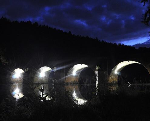 Pont Saint-Nicolas de nuit - Photo de Florence Dumont